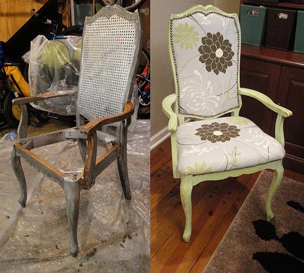 Как отремонтировать мягкие стулья своими руками