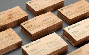 бизнес идея изготовления деревянных визиток