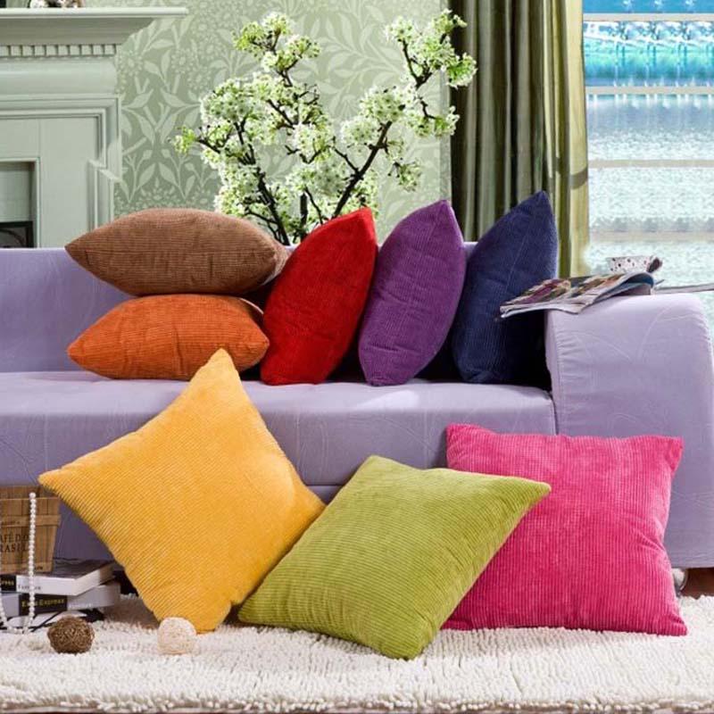pillow yellow cushion cover housse de coussin decorativa car cojines sofa throw pillows case home decor